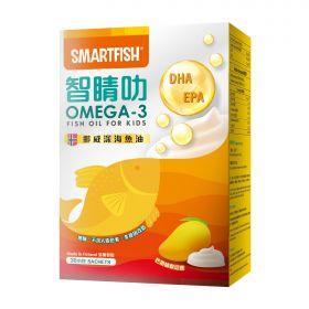 Smartfish智睛叻OMEGA-3兒童忌廉魚油(30包)