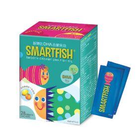 SmartFish® 智睛叻DHA忌廉魚油 (28包裝)