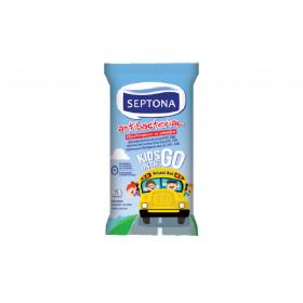 SEPTONA 保濕抗菌(兒童)濕紙巾15片